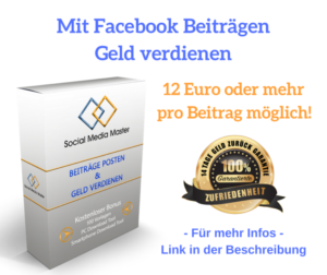 Mit-Facebook-Beiträgen Geld-verdienen