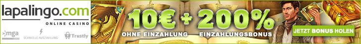 20 Freispiele + 10€